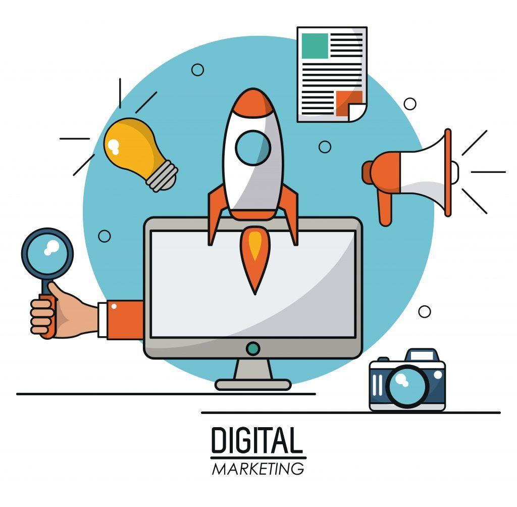digital marketing computer technology online information system