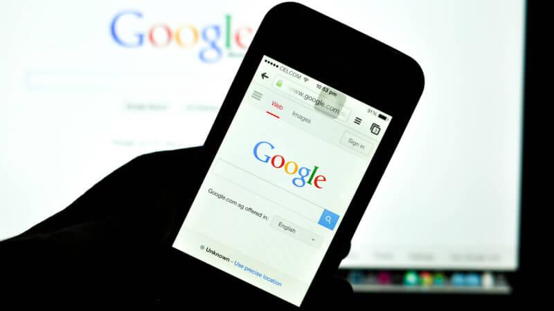 Busquedas en Google Mobile