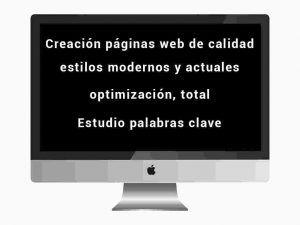 Creacion páginas web, responsive