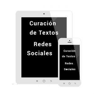 imagen Curación de textos, redes sociales