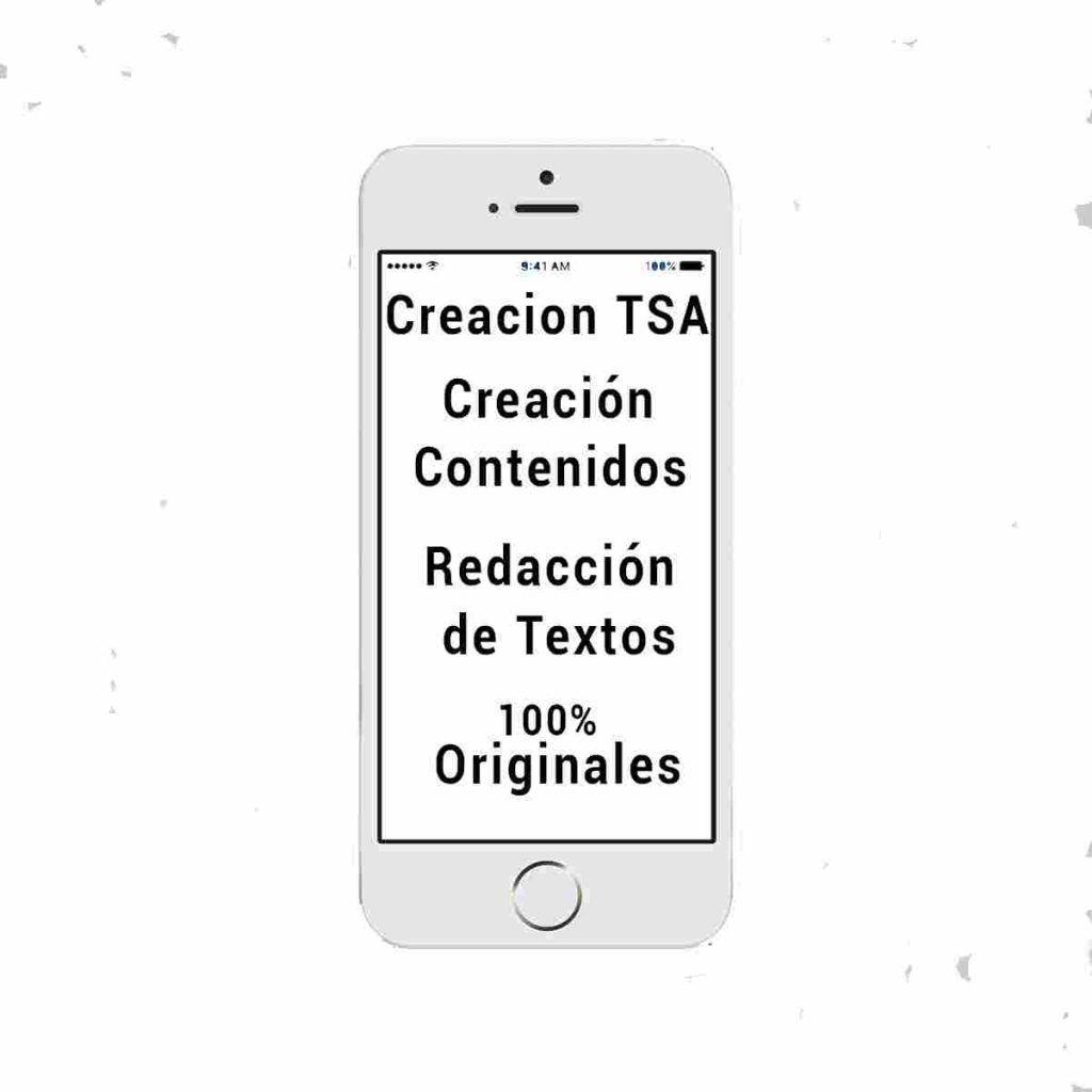Creación TSA, TSR, textos optimizados