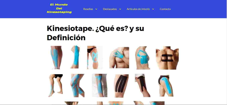 kinesiotape lesion de rodilla, kinesiotape lesión de hombro, kinesiotape colores, kinesiotape para el dolor de espalda