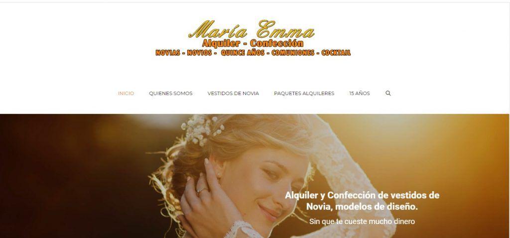 Vestido de novia Maria Enma